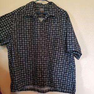 Mens Crazy Horse button up causal shirt Size XXL